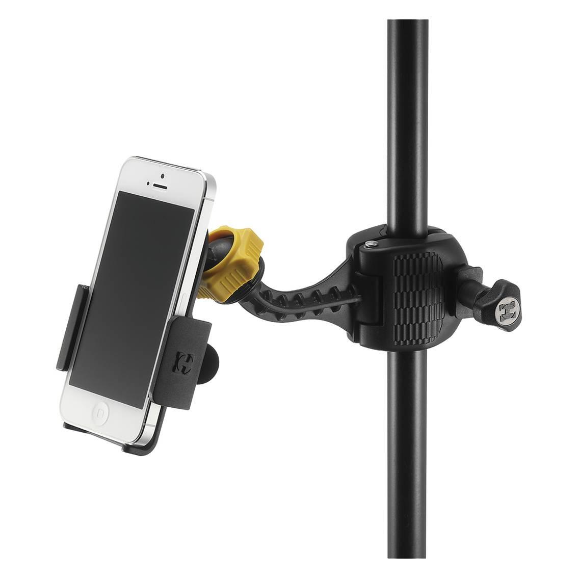 Foto2 - Suporte para Smartphone com Ajuste Variável e Trava Hercules DG200B