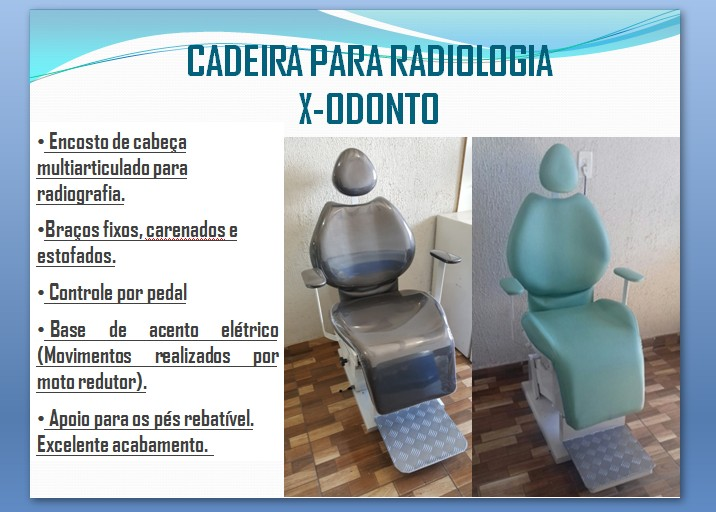 Foto2 - Cadeira para Radiologia elétrica