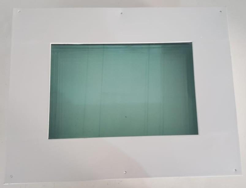Foto 1 - Visor Radiográfico para sala de Raios-x