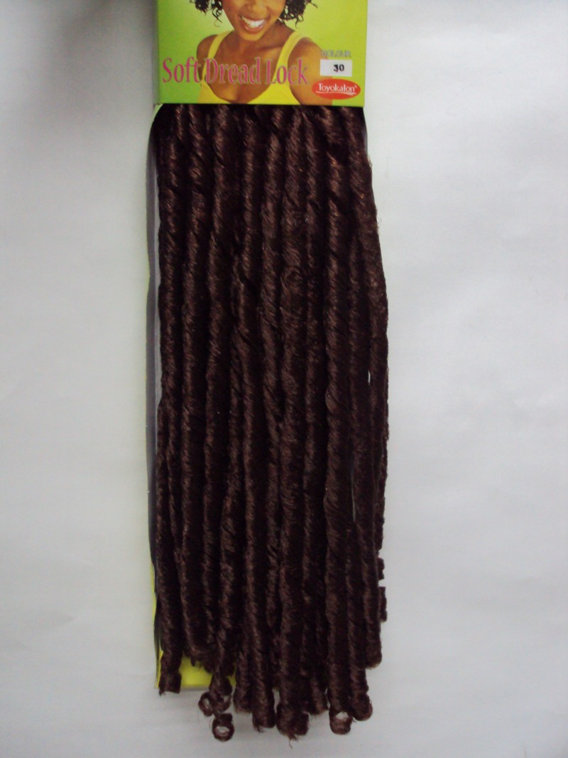 Foto 1 - Cabelo Sintético Ebony Softex Dread 80 Cm Crochet Promoção
