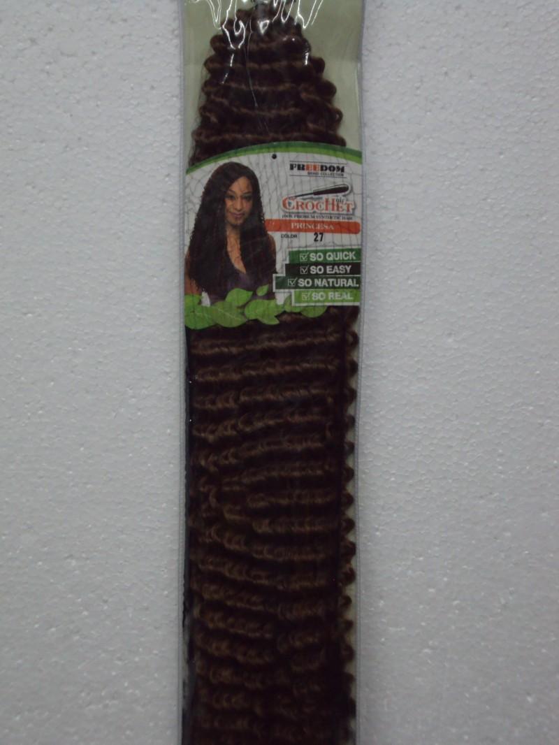 Foto 1 - Cabelo Sintético Freedom Crochet Braid Princesa