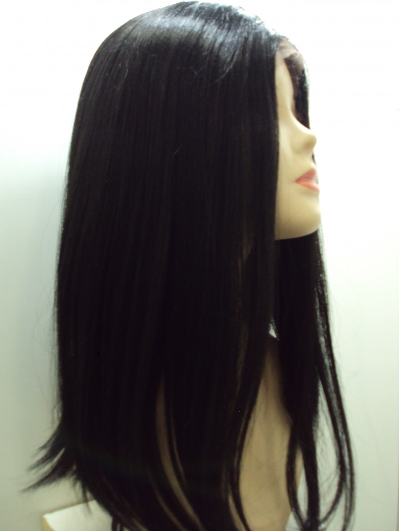 Foto 1 - Peruca Lace Front Menina - Fibra Japonesa True Me Sleek