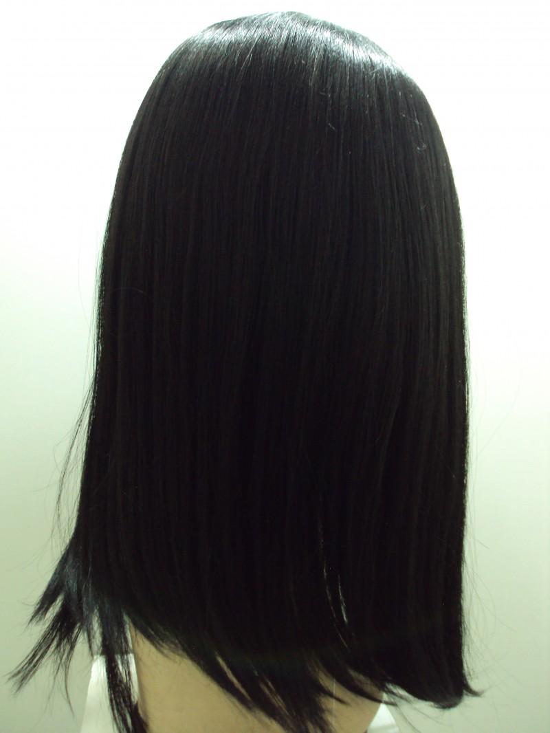 Foto2 - Peruca Lace Front Menina - Fibra Japonesa True Me Sleek