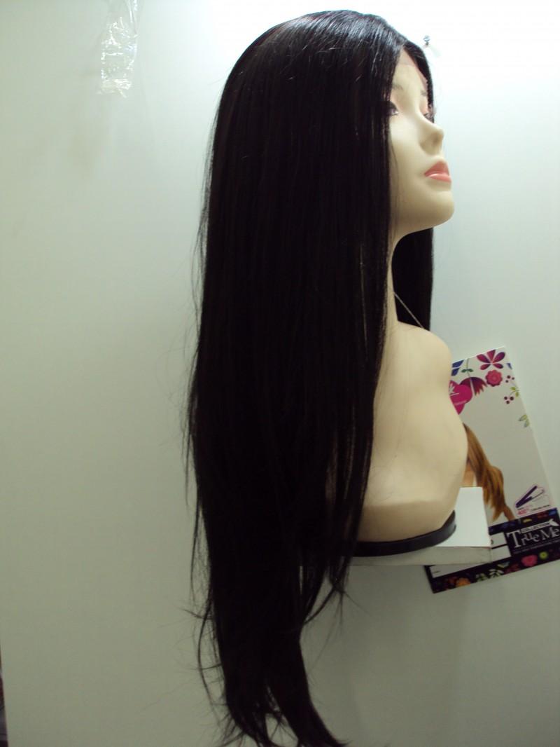 Foto2 - Peruca Lace Front Realeza Novo - Fibra Japonesa True Me Sleek