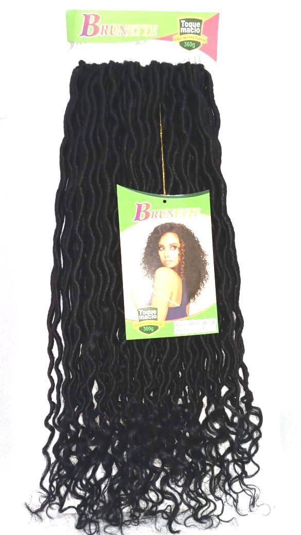 Foto 1 - Cabelo Afro Dread Goodess Sintético Brunette 360g Promoção