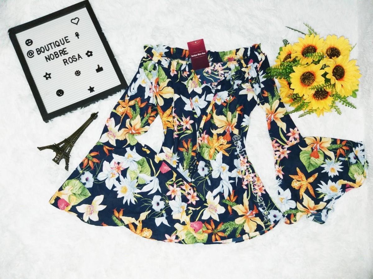 Foto2 - Blusa Ciganinha Floral