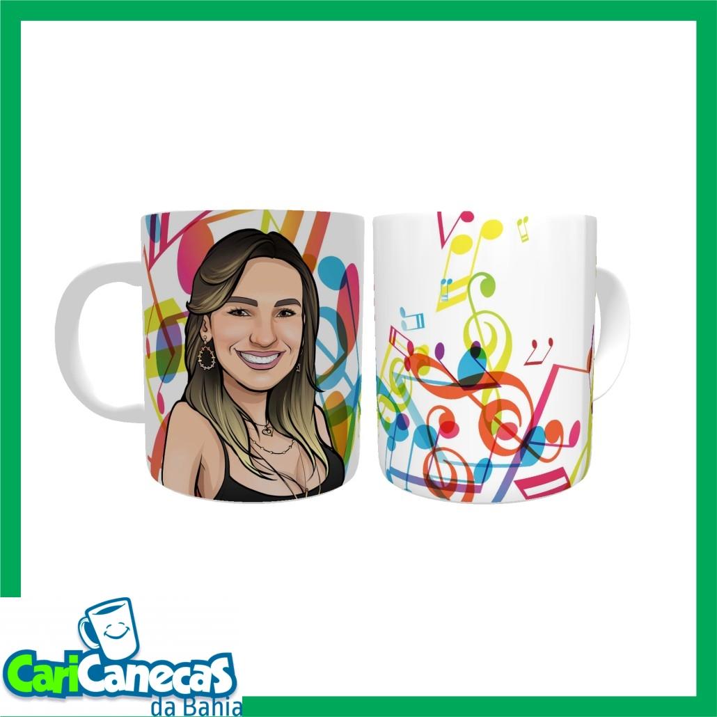 Foto4 - 01 Almofada + 01 Azulejo + 01 Caneca de Café