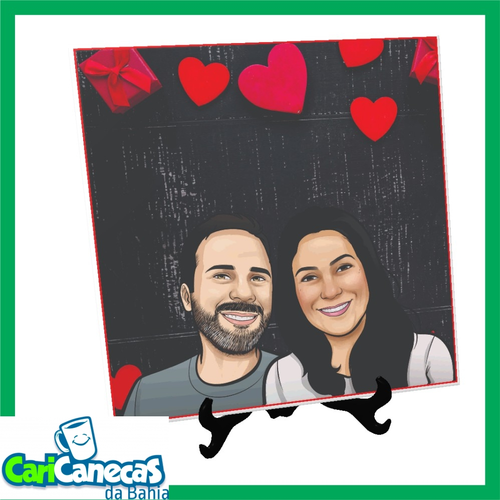 Foto 1 - Azulejo - 01 ou 02 Caricaturas