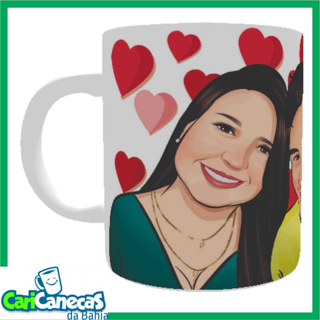 Foto2 - 02 Canecas de Café Casal + 02 Caricaturas