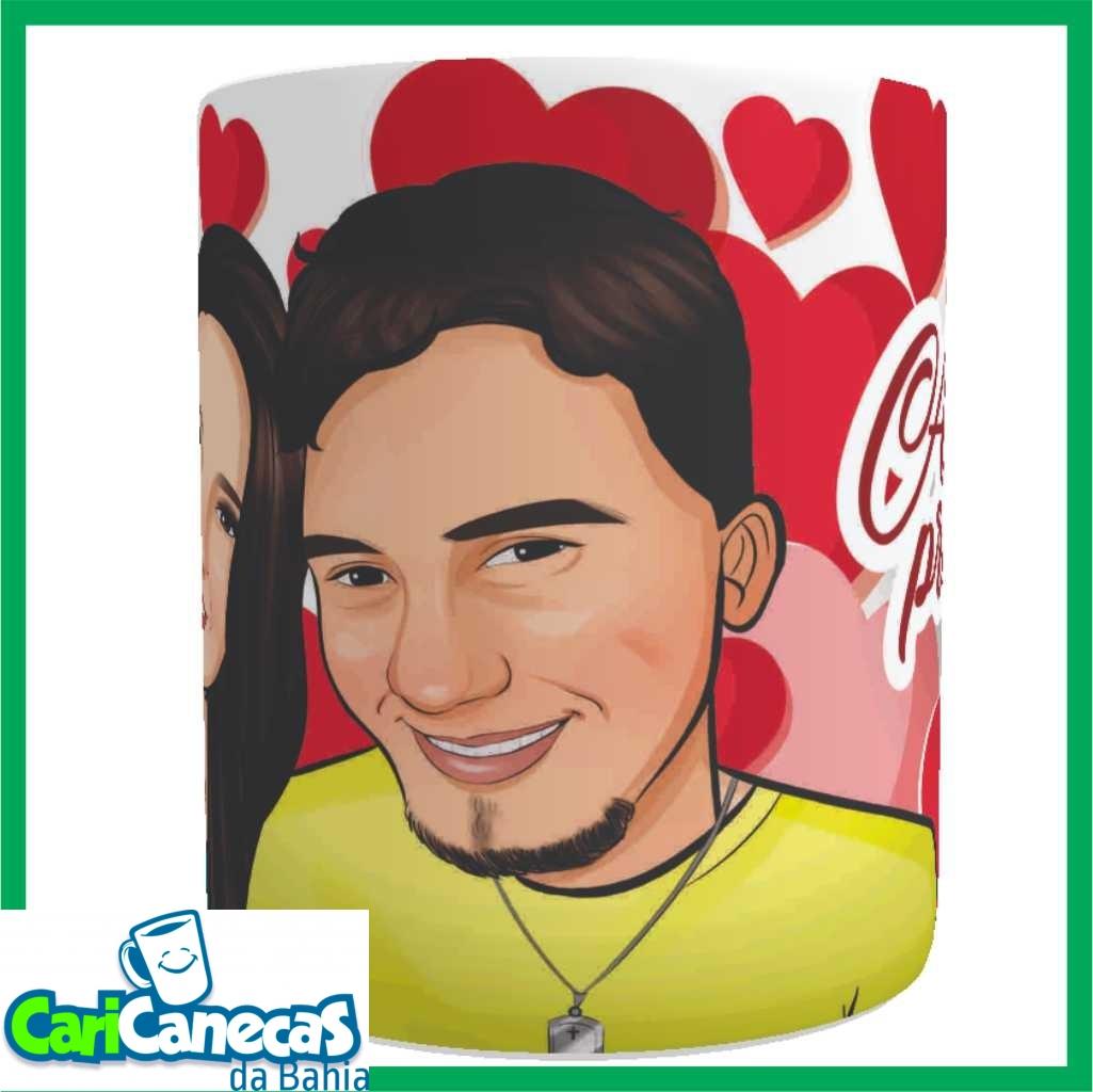 Foto3 - 02 Canecas de Café Casal + 02 Caricaturas