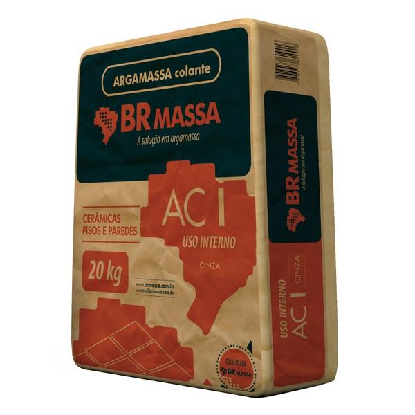 Foto 1 - Argamassa Colante AC-I Cinza BR Massa 20kg