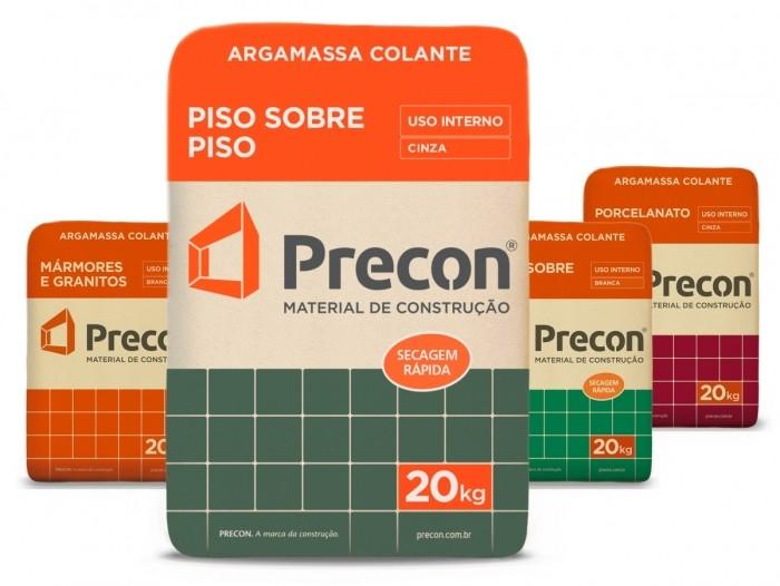 Foto 1 - Argamassa Colante Piso sobre Piso Cinza Precon 20kg