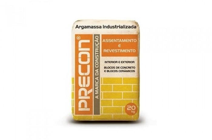 Foto 1 - Argamassa Multiplo Uso Precon 20kg