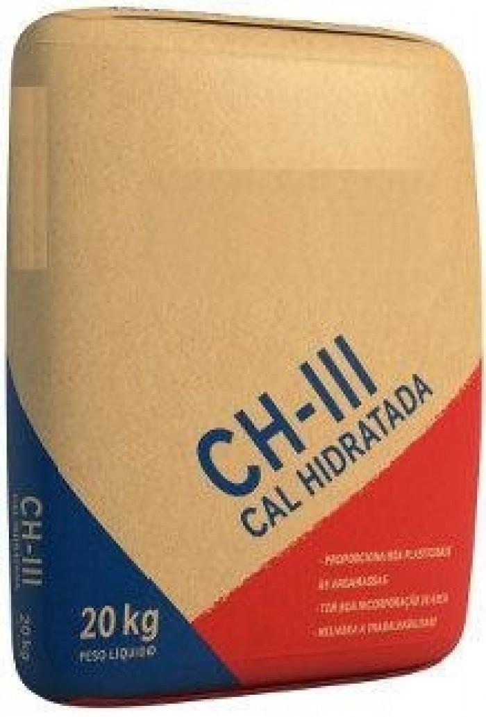 Foto 1 - Cal Hidratada CHIII Comum 20kg Massical