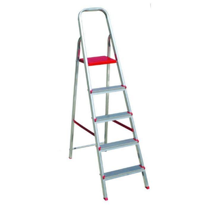 Foto 1 - Escada domestica de 5 degraus Eloflex