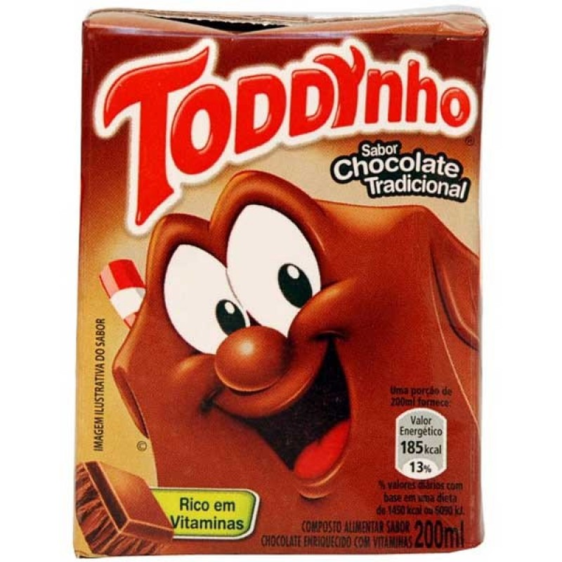 Foto 1 - Achocolatado Toddynho 200 ml