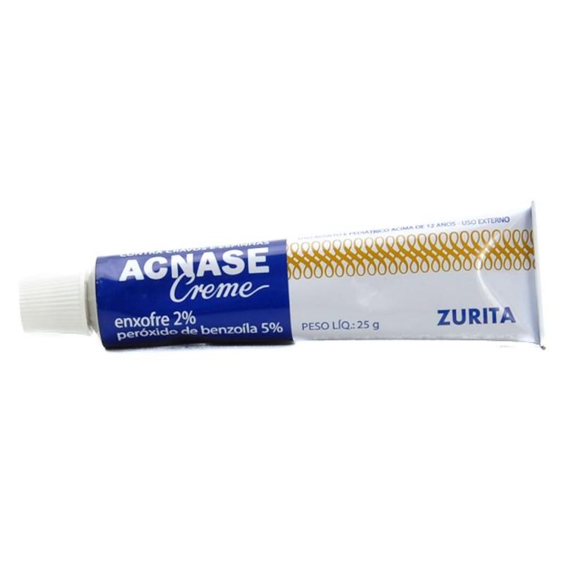 Foto 1 - Acnase creme com 25 gramas