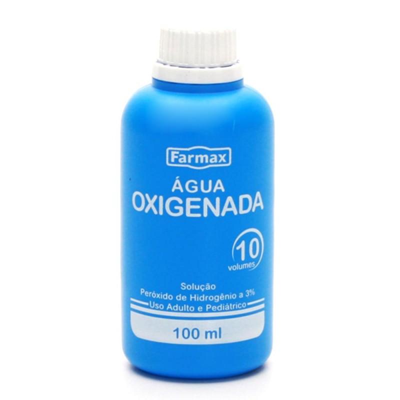 Foto 1 - Água Oxigenada Líquida Farmax 10 Volumes 100ml