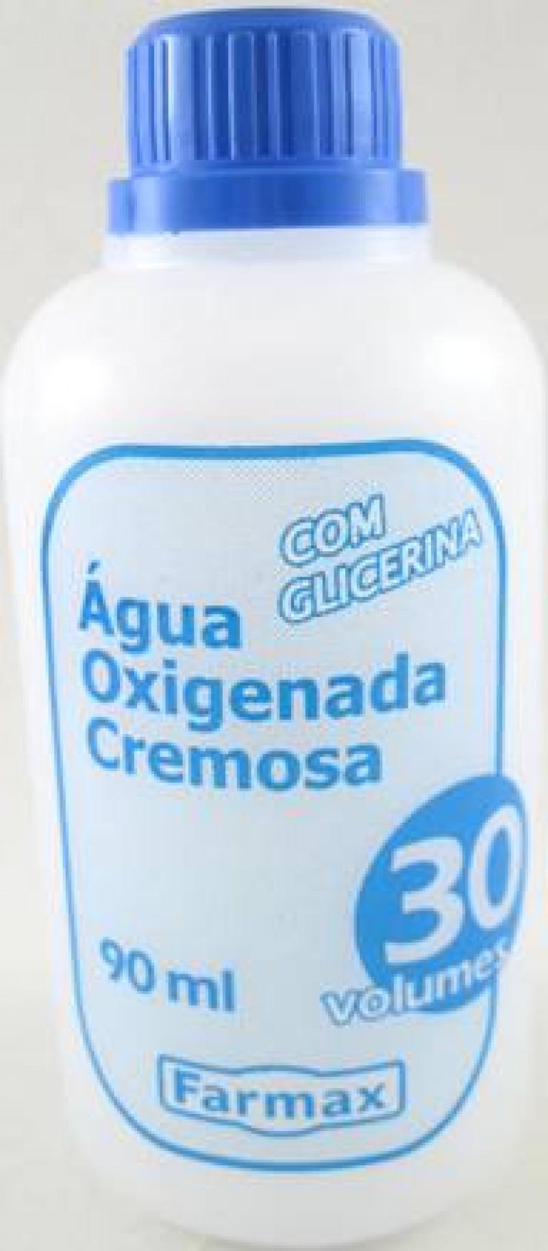 Foto 1 - Água Oxigenada Cremosa Farmax 30 Volumes 90m