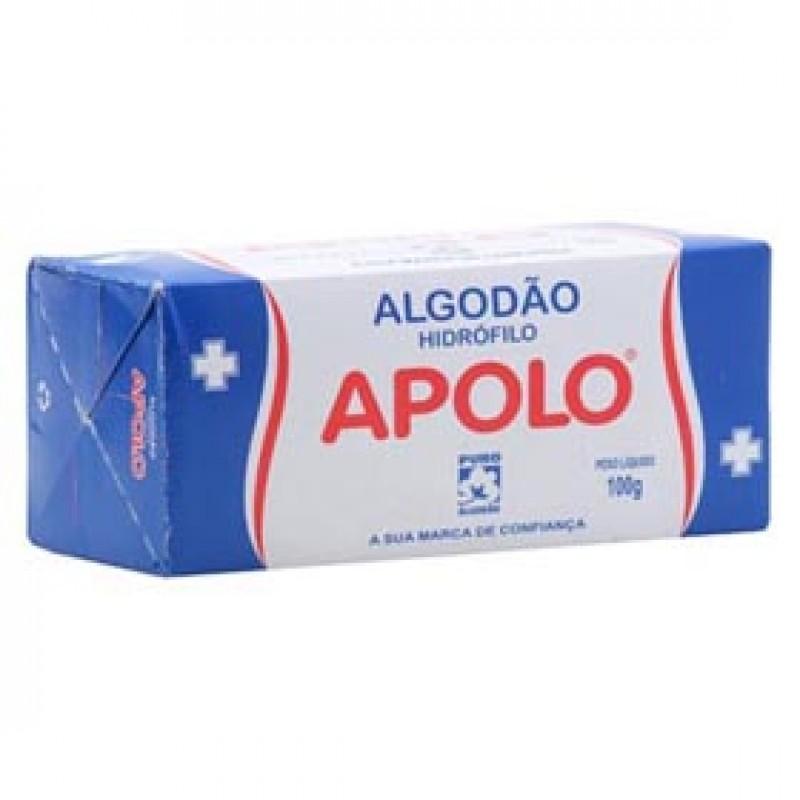 Foto 1 - Algodão Apolo Hidrófilo 100 gramas