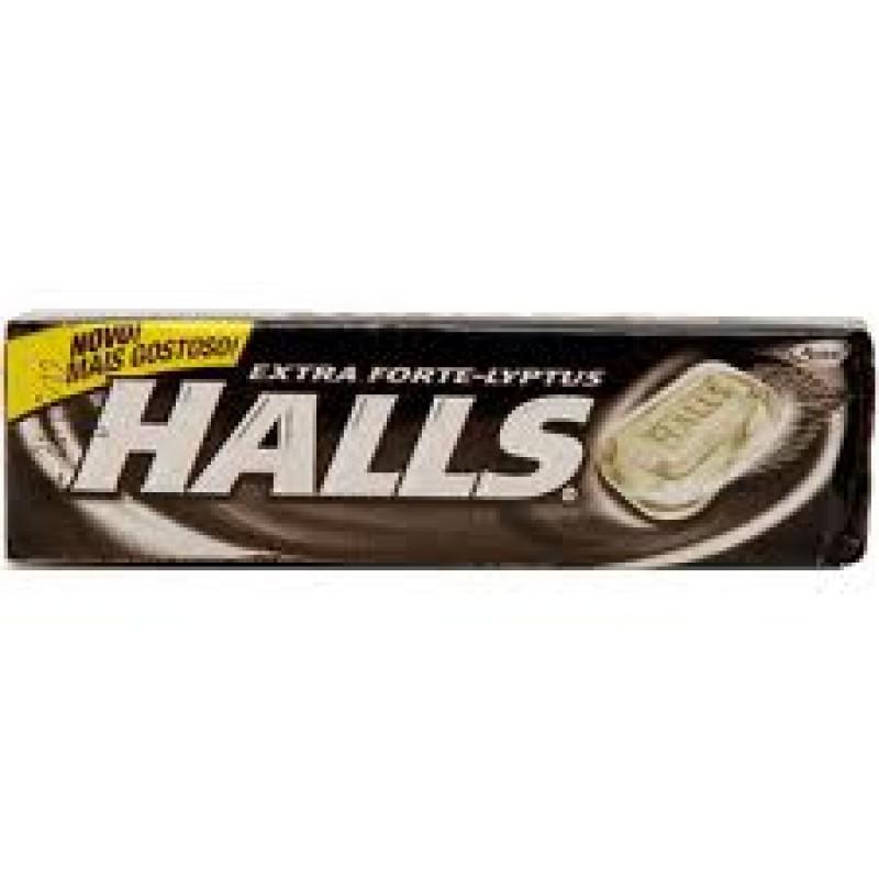 Foto 1 - Bala Halls Extra Forte 37 gramas