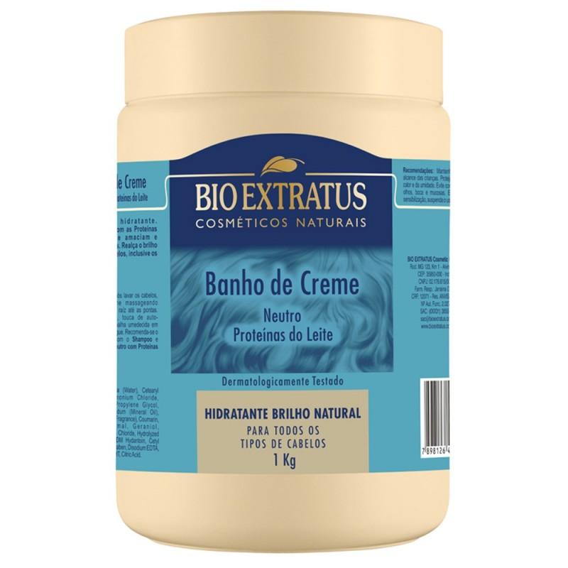 Foto 1 - Banho de Creme Bioextratus Neutro 1kg