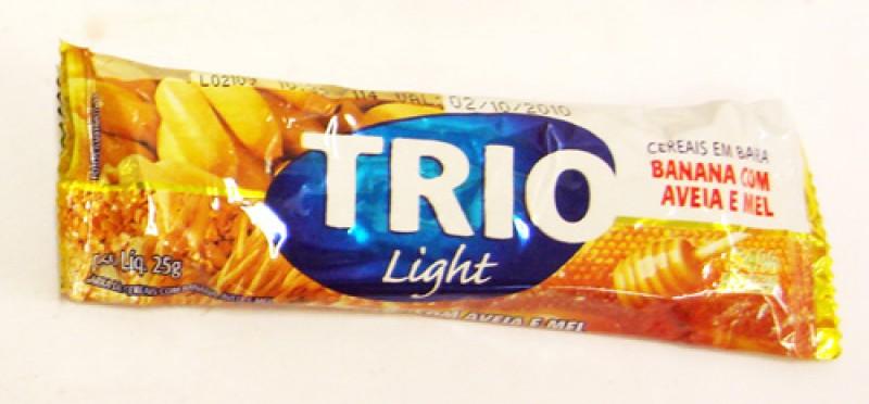 Foto 1 - Barra de cereais Trio Banana 25 gramas