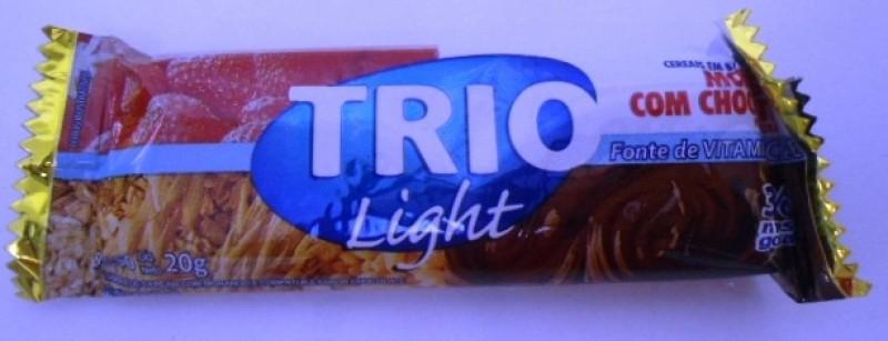 Foto 1 - Barra de Cereais Trio Light Morango com chocolate 25 gramas