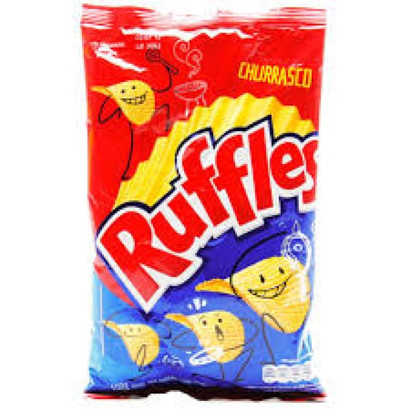 Foto 1 - Batata Ruffles Elma Chips Churrasco 100g