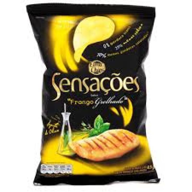 Foto 1 - Batata Sensações Elma Chips Frango Grelhado 45g