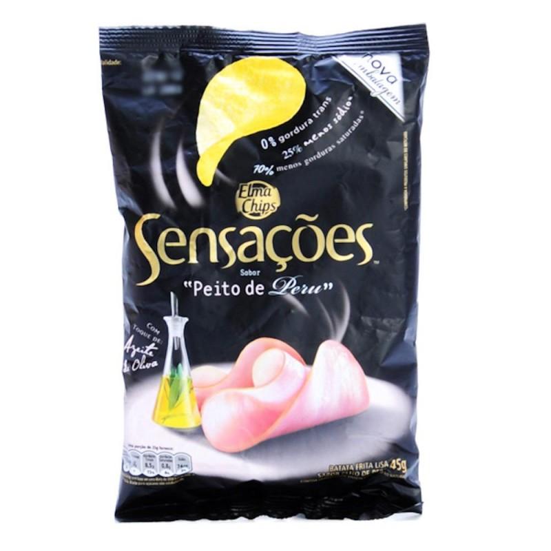 Foto 1 - Batata Sensações Elma Chips Peito de Peru 45g