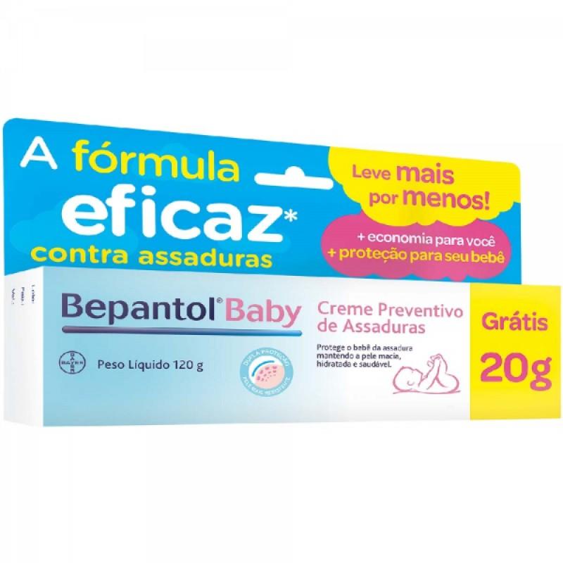Foto 1 - BEPANTOL BABY CREME C/100G 20G GRATIS