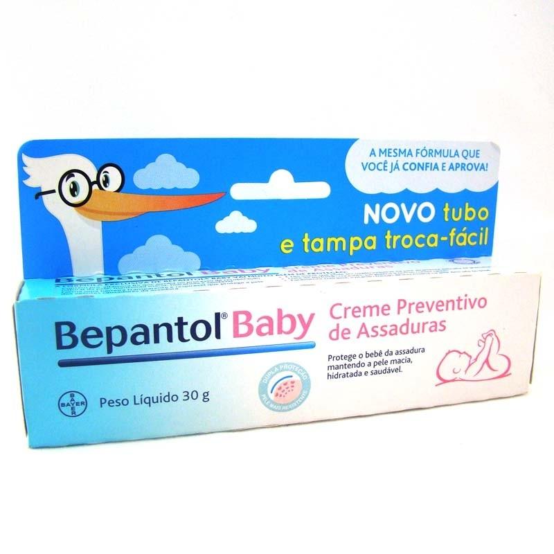 Foto 1 - BEPANTOL BABY CREME C/30G