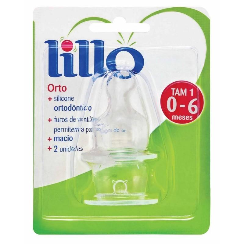 Foto 1 - Bico Ortodôntico Silicone Tamanho 1 - Lillo