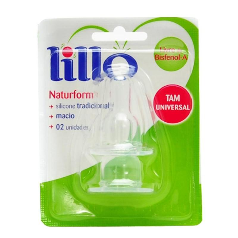 Foto 1 - Bico Lillo Natuform Tamanho Universal com 2 unidades