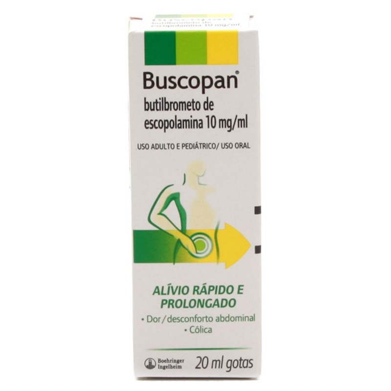 Foto 1 - Buscopan gotas com 20 ml