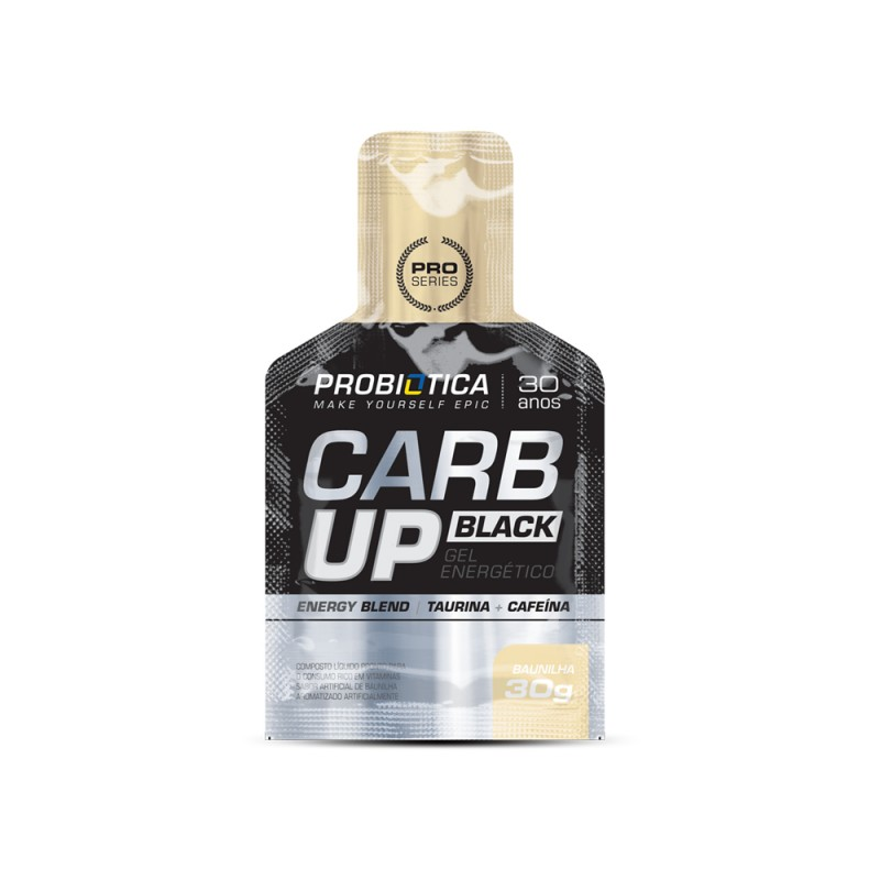 Foto 1 - CARB UP GEL BLACK C/30G