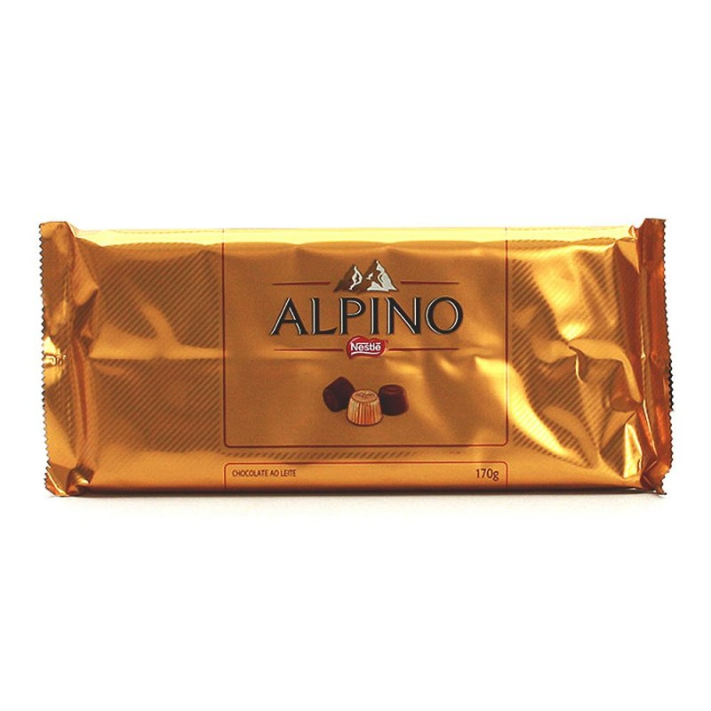 Foto 1 - Chocolate Nestlé Alpino 170g