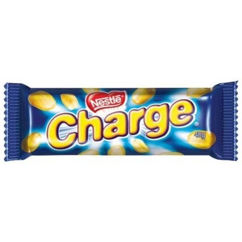 Foto 1 - Chocolate Nestlé Charge Bombom de Chocolate Recheado com Amendoim Caramelizado 40g