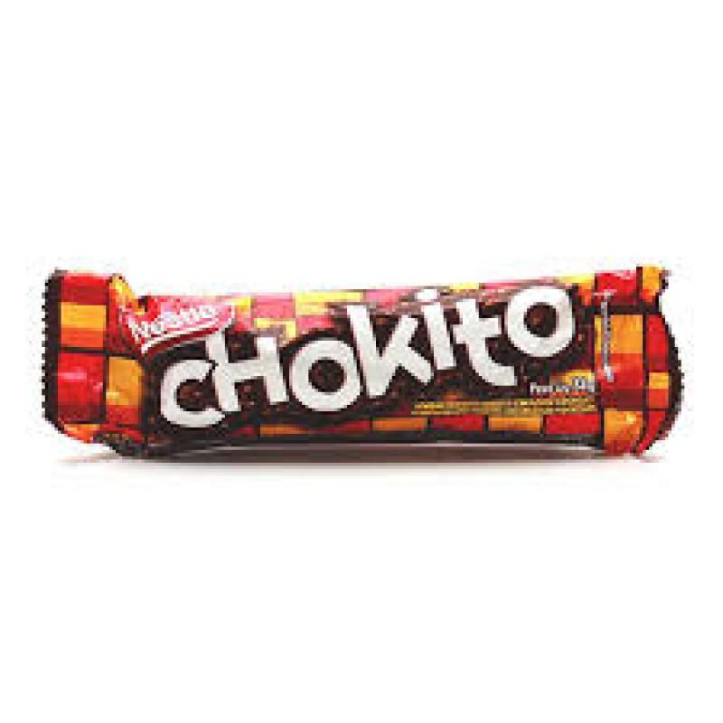 Foto 1 - Chocolate Nestlé Chokito Bombom Recheado Coberto com Flocos e Chocolate 32G