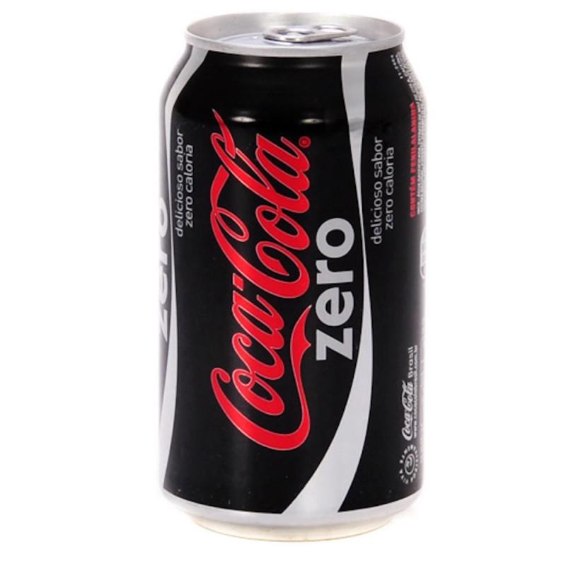 Foto 1 - Coca Cola Zero Lata 350ml