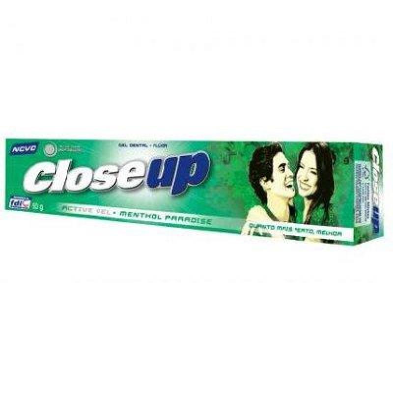 Foto 1 - Creme Dental Close Up Menthol 90g