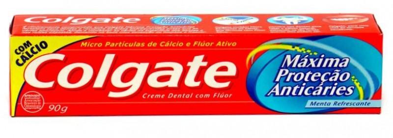 Foto 1 - Creme Dental Colgate Máxima Proteção 90g