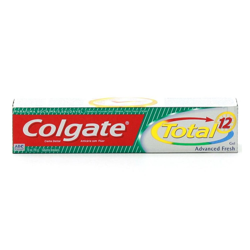 Foto 1 - Creme Dental Colgate Total 12 Advanced Fresh Gel 90g