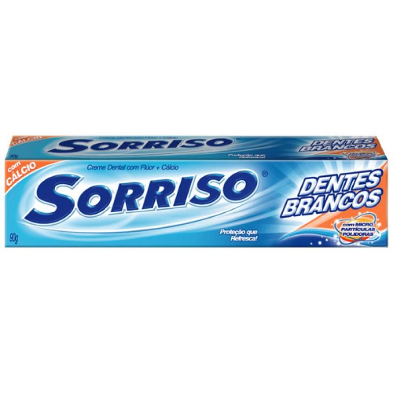 Foto 1 - Creme Dental Sorriso Dentes Brancos 90g