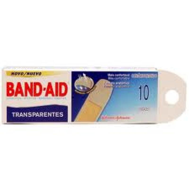 Foto 1 - Curativo BAND-AID Transparente 10 unidades
