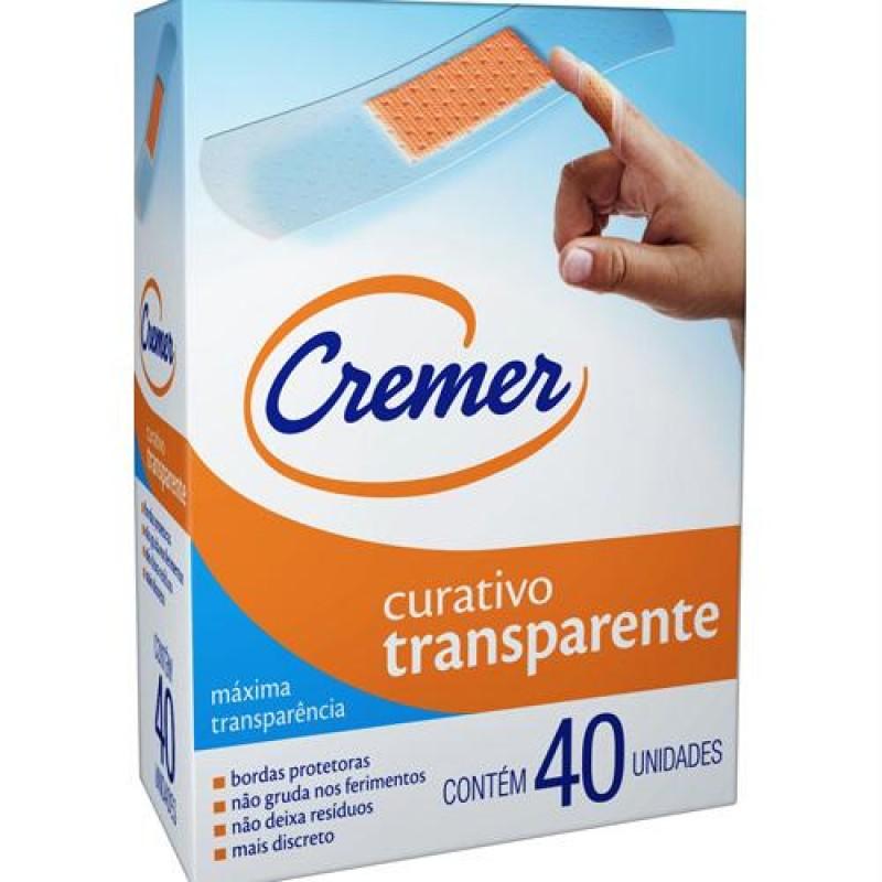 Foto 1 - Curativo Transparente Cremer Com 40 unidades