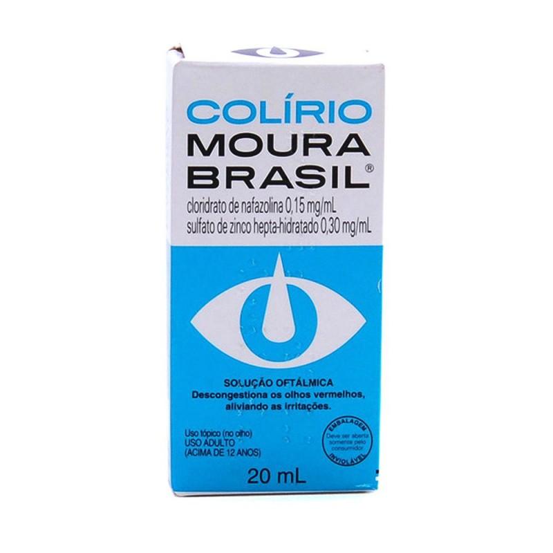 Foto 1 - Colírio moura brasil com 20 ml