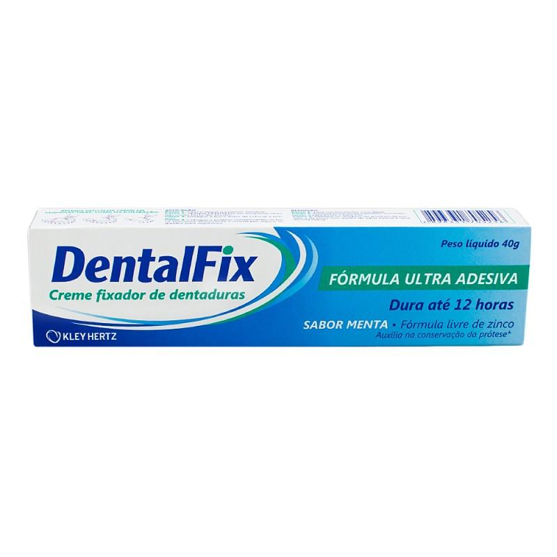 Foto 1 - DentalFix Creme Fixador de Dentaduras Sabor Menta c/40gr