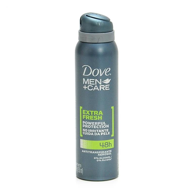 Foto 1 - Desodorante Dove Aerosol Antitranspirante For Men Extra Fresh 48 Horas sem Álcool 150ml